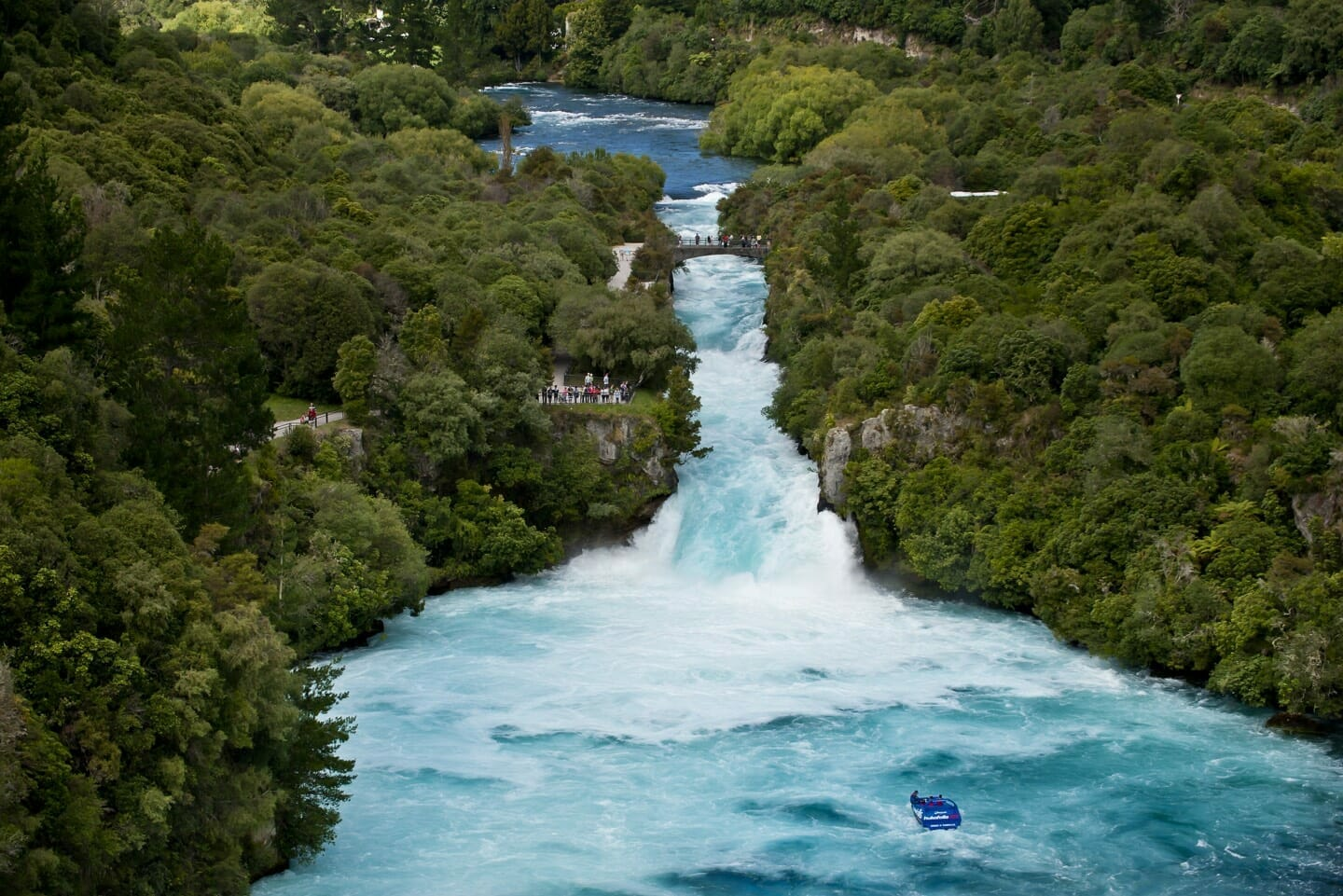 Huka Falls - by Destination Great Lake Taupo