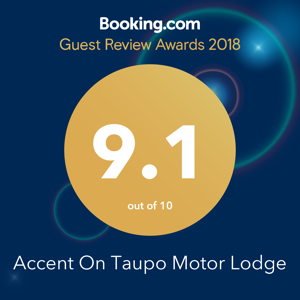 Booking.com Guest Review Award 9.1 - 2018