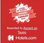 Loved by Guests Award - Hotels.com 2019