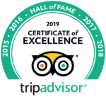 trip advisor Hall of Fame 2019 Accent on Taupo